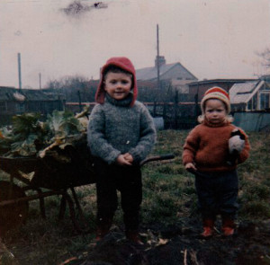 David and Ruth, allotment fall 1970